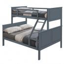 NEVIL - Emeletes szétszedhető ágy, szürke