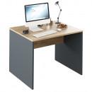 RIOMA NEW TYP 12 - Íróasztal, grafit/tölgyfa artisan