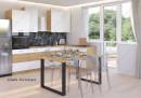 Vega modern étkezőasztal több méretben (VLB)