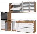 VLB4 konyhabútor összeállítás 270 cm belső elrendezés