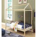 ATIMAD - Montessori ágy, fenyő fa, természetes