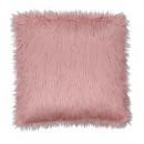 FOXA TYP 3 - Párna, rózsaszín/arany-rózsaszín, 45x45