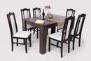 London étkező garnitúra, Félix asztal + 6 db London szék