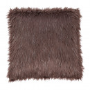 FOXA TYP 4 - Párna, szürke-barna-taupe/ezüst, 45x45