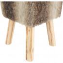 NAFULA - Szőrme ülőke, barna