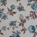 ASTRID fotel és puff 1-es virágmintás szövettel