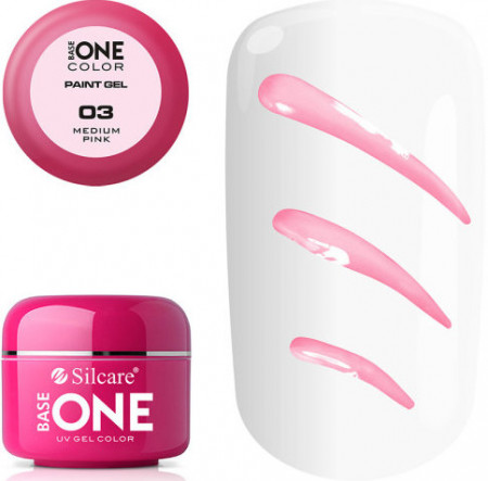 GEL COLOR BASE ONE PAINT 5g - 03 Medium Pink