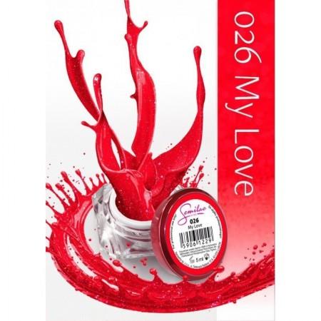 Gel color Semilac 026 My Love
