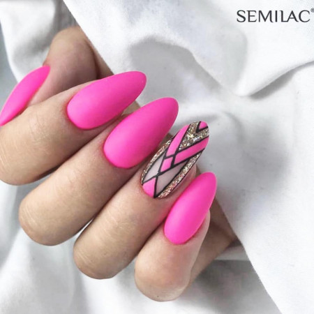 Gel color Semilac 043 Electric Pink