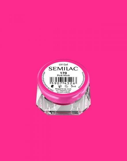 Gel color Semilac 170 Pink Wink