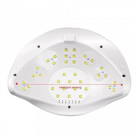 Lampa Unghii Led Sun X Plus 72W - dubla (pentru doua maini)