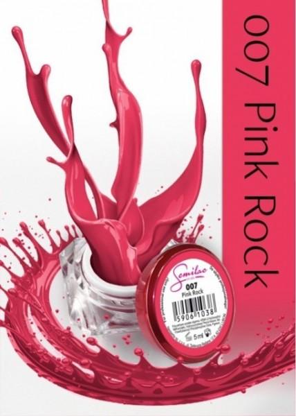 Gel color Semilac 007 Pink Rock