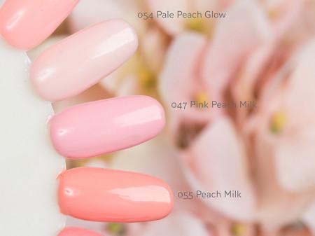 Gel color Semilac 054 Pale Peach Glow
