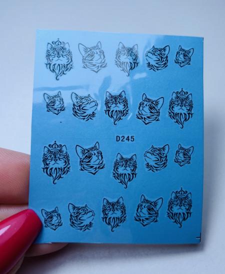 Tatuaj Kitty D245