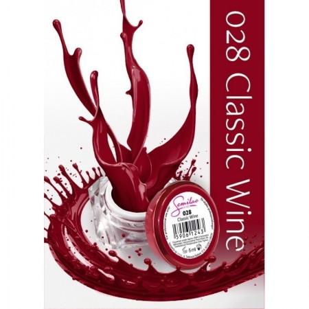 Gel color Semilac 028 Classic Wine
