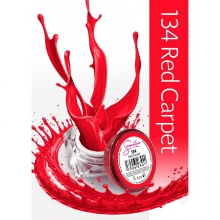 Gel color Semilac 134 Red Carpet