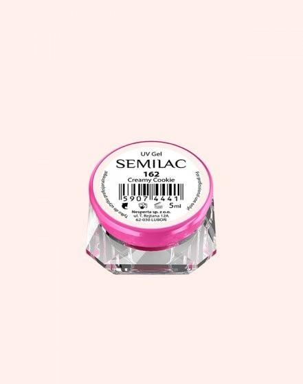 Gel color Semilac 162 Creamy Cookie