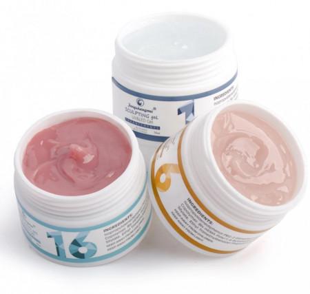 GEL UV CONSTRUCTIE FSM 15ML - NR 01 - CLEAR