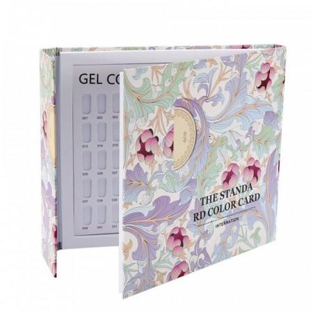 Catalog prezentare culori 120 pozitii cu flori