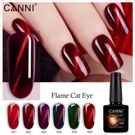 Canni 3D Flame Cat Eyes A26
