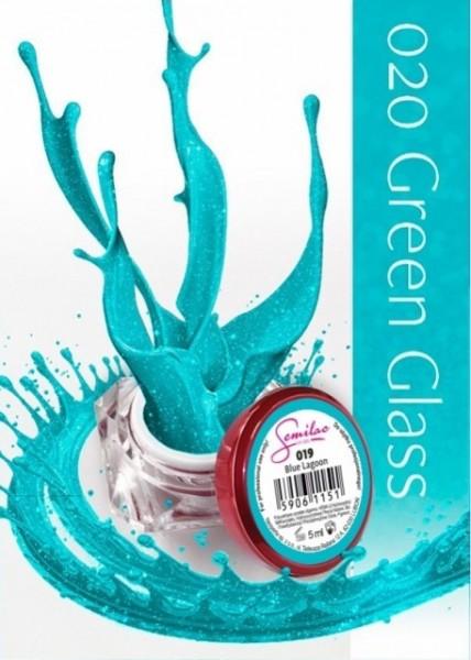 Gel color Semilac 020 Green Glass