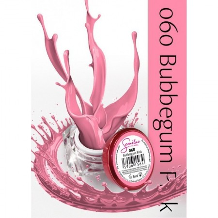 Gel color Semilac 060 Bubblegum Pink