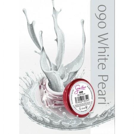 Gel color Semilac 090 White Pearl