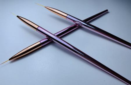 Pensula Gold Rose nail art 2 cm