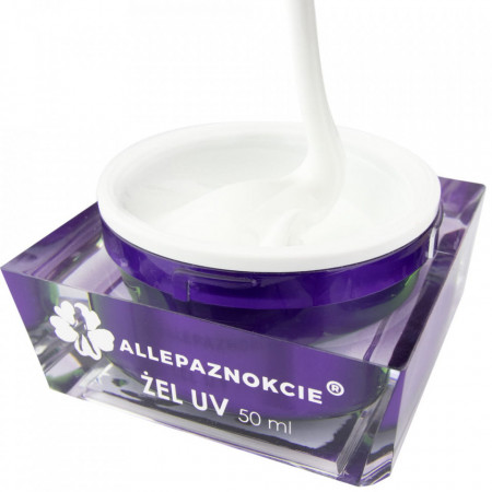 Perfect French White Gel UV 50 ml - Allepaznokcie