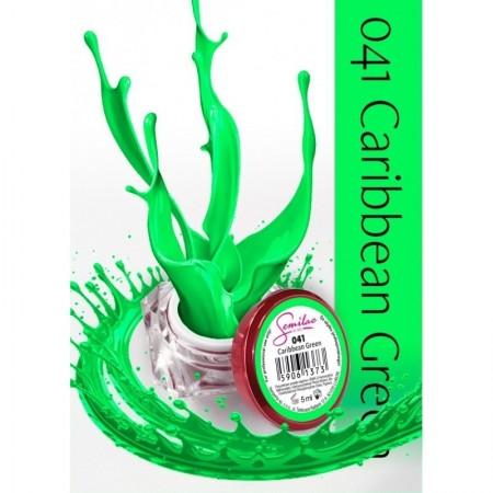 Gel color Semilac 041 Caribbean Green