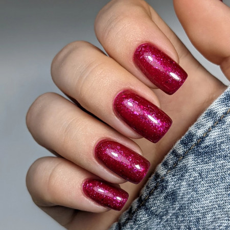 Gel color Semilac 111 Cherry & Berry