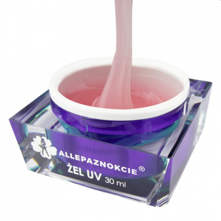 Perfect French Rose Gel UV 30 ml - Allepaznokcie