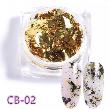 Pigment Flakes CB - 02 Gold