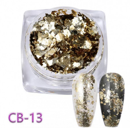 Pigment Flakes CB - 13 Light Gold