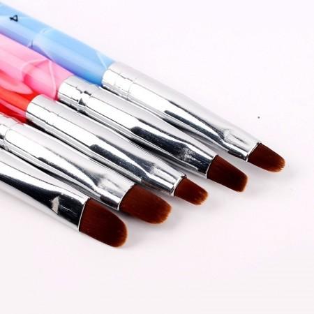 Set 5 Pensule Gel cu Punctatoare