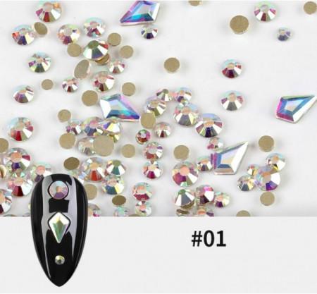 Set mix Cristale Pure Diamonds #1