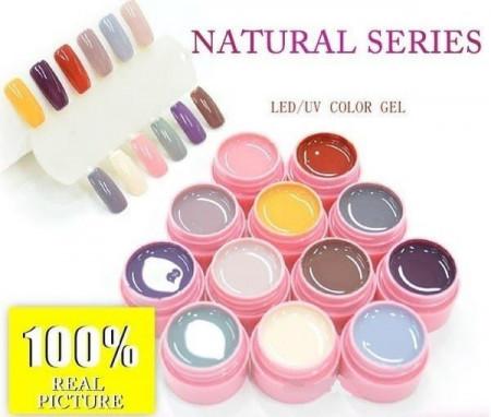 Gel Color Canni Set 12 Natural