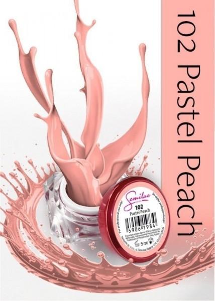 Gel color Semilac 102 Pastel Peach