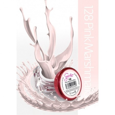 Gel color Semilac 128 Pink Marshmallow