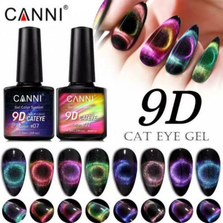 CANNI 9D Cat Eye #02