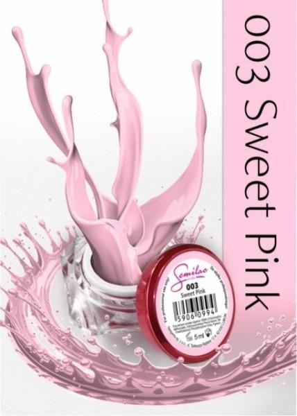 Gel color Semilac 003 Sweet Pink