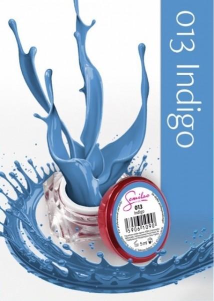 Gel color Semilac 013 Indigo