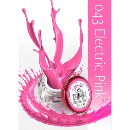 Gel color Semilac 043 Electric Pink