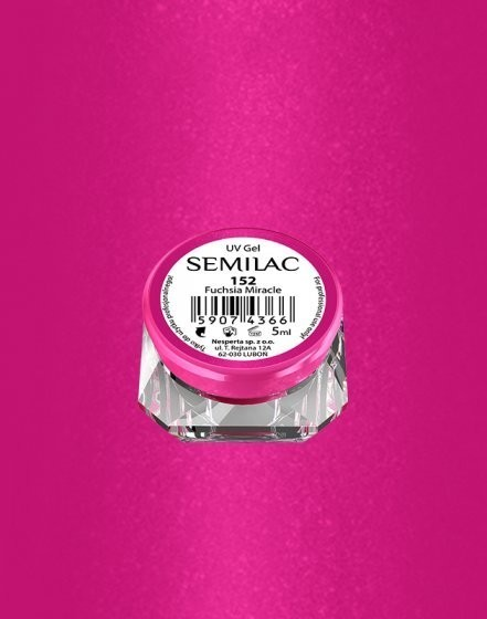 Gel color Semilac 152 Fuchsia Miracle