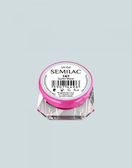 Gel color Semilac 167 Surfer Wave