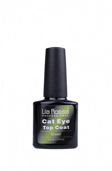 TOP COAT SOAK-OFF LILA ROSSA CAMELEON CAT EYE 7.3 ML GREEN