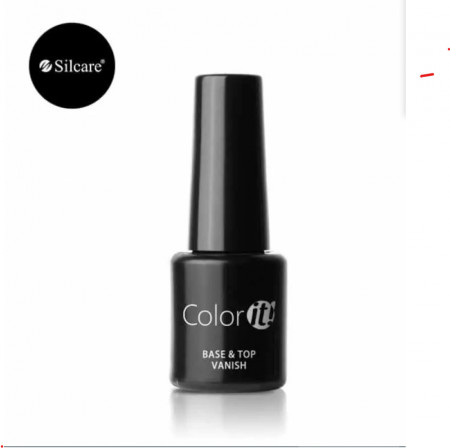 Baza si Top Coat Vanish Color IT Silcare 2 in 1