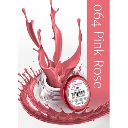 Gel color Semilac 064 Pink Rose