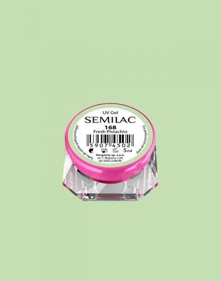 Gel color Semilac 168 Fresh Pistachio