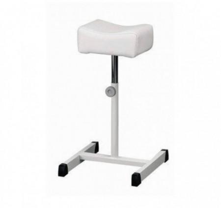Scaun pentru pedichiura alb
